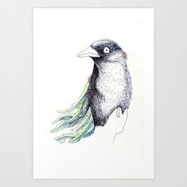 Yang, Bird Nature Art Print
