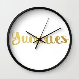 Yummies Wall Clock