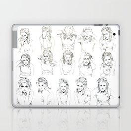 Kristen Stewart Sketches Laptop & iPad Skin