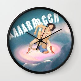 AAAARRRRGGGGH /// Anger Wall Clock