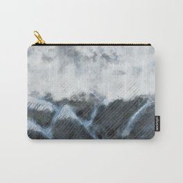 Stormy Mountains Carry-All Pouch