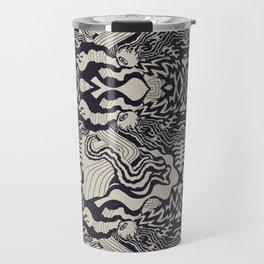 Warehouse Pattern Travel Mug