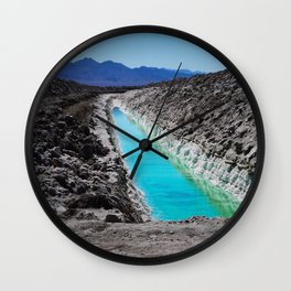 Don't Drink The Water Wall Clock