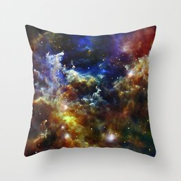 Cradle of Stars Throw Pillow