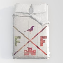 Flying Fortress (Experimental) Comforters