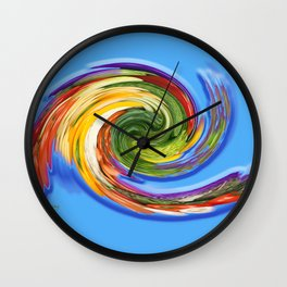 The whirl of life, W1.9C Wall Clock
