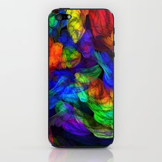 The Magic of Color iPhone & iPod Skin