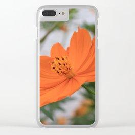 Elegant Cosmos Clear iPhone Case