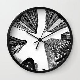 Subtle City Wall Clock