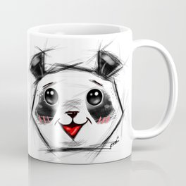Adorable Sketch Panda Coffee Mug