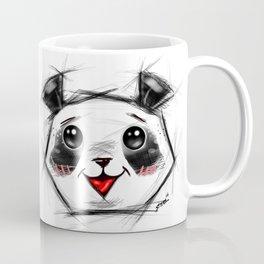 Adorable Sketch Panda Coffee Mug