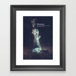 Moreno dvd cover Framed Art Print