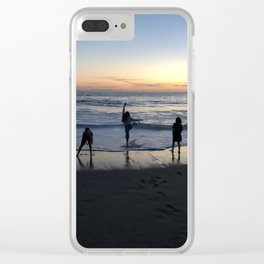 Freetime Clear iPhone Case