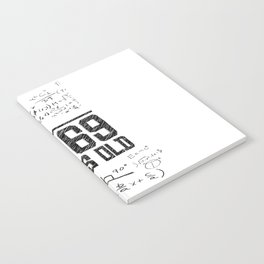My age in square root Notebook