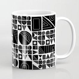 Square peg, round hole Coffee Mug