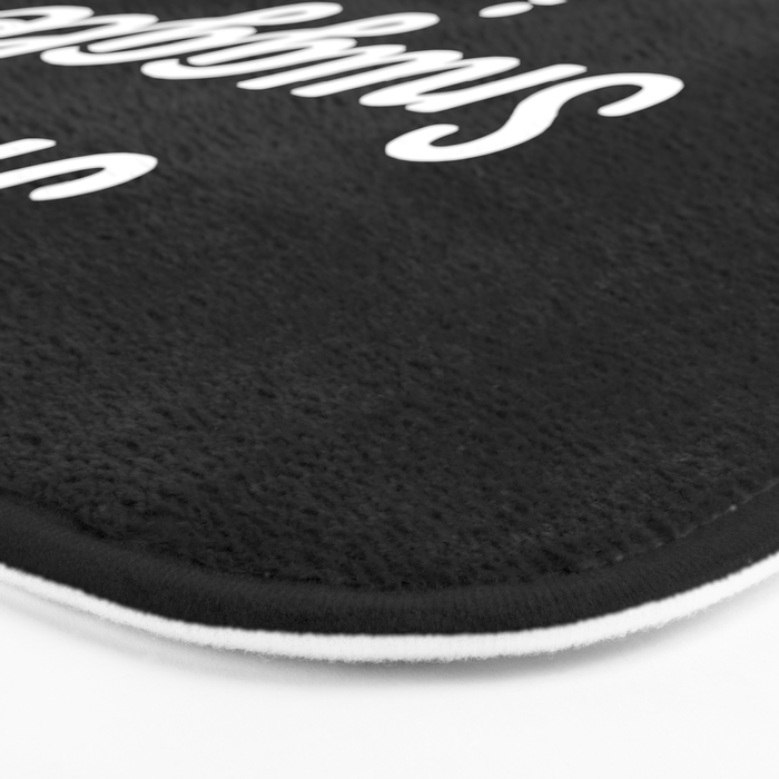 Snuggle Is Real Funny Quote Bath Mat