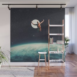 Returning to Earth with a will to Change Wall Mural