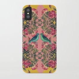 Love Birds II (yellow version) iPhone Case