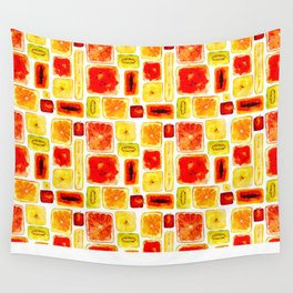 Juicy cubism Wall Tapestry