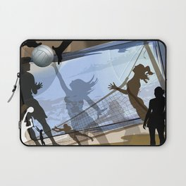 Anyone For Volleyball? Laptop Sleeve