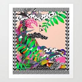 Tedders <3 Art Print