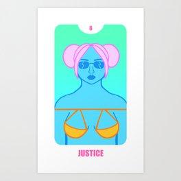 Justice Art Print