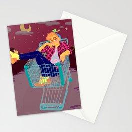 haha sick Stationery Cards