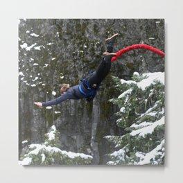 Bungee jump Metal Print
