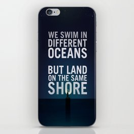 Bioshock Lighthouse Quote Poster iPhone Skin