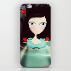 Light and Transparency illustration The Moon iPhone & iPod Skin