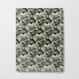 Elderflower Heart Metal Print