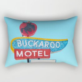 Buckaroo Motel Rectangular Pillow