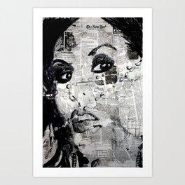 LA Ink Art Print