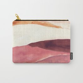 Abstract Love, Peace and Hope, Contemporary Fine Art Carry-All Pouch