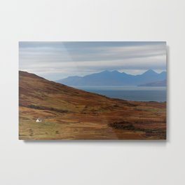 Scotland Argyll mountain landscape Metal Print