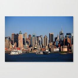 New York City Skyline 12 Canvas Print