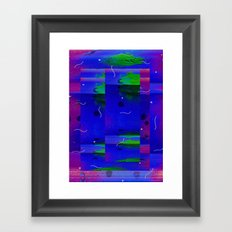 Tintgradé  Framed Art Print