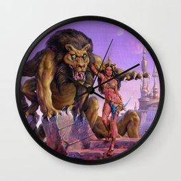 Maid of Mars Wall Clock