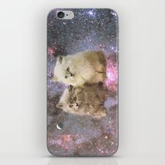 Space Cats iPhone & iPod Skin