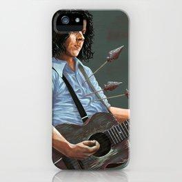 blue blood blues iPhone Case