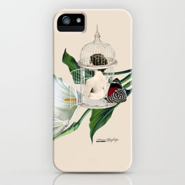 the cage door is always open iPhone Case