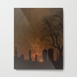 THE BEGINNING OR THE END? Metal Print