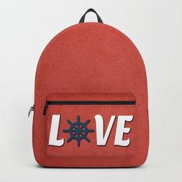 Love nautical design Backpack