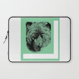 Drunk Grizzly Laptop Sleeve