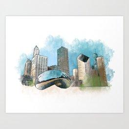 Chicagoland Art Print