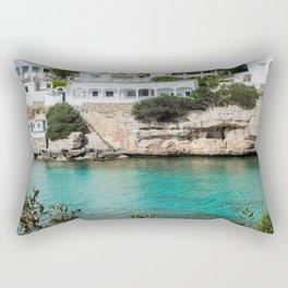 Wonderful landscape of Menorca. Rectangular Pillow