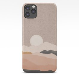 Rose Mountains iPhone Case