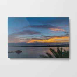 Sunset Over the Wedge Metal Print