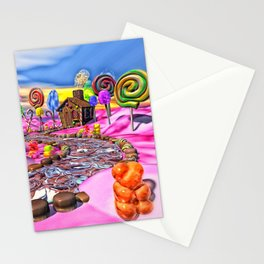 Pink Candyland Stationery Cards