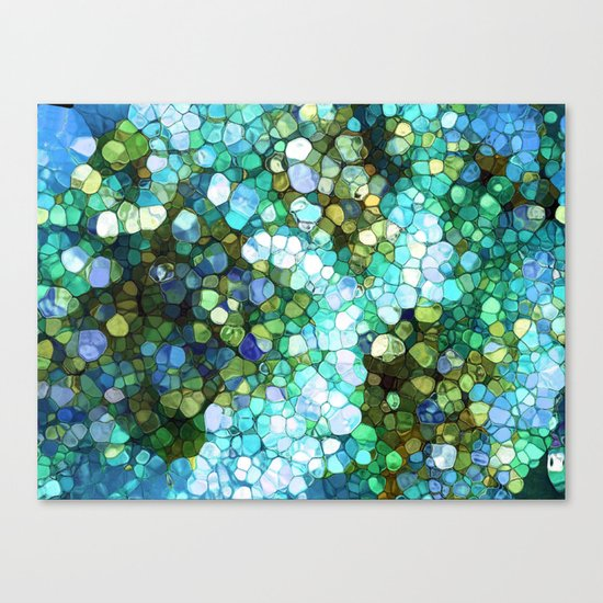 Ocean Colors Canvas Print